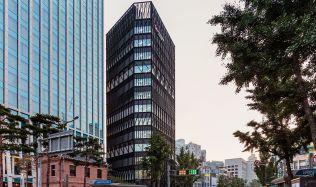 Namdaemun Office Building in Seoul, South Korea by Mecanoo