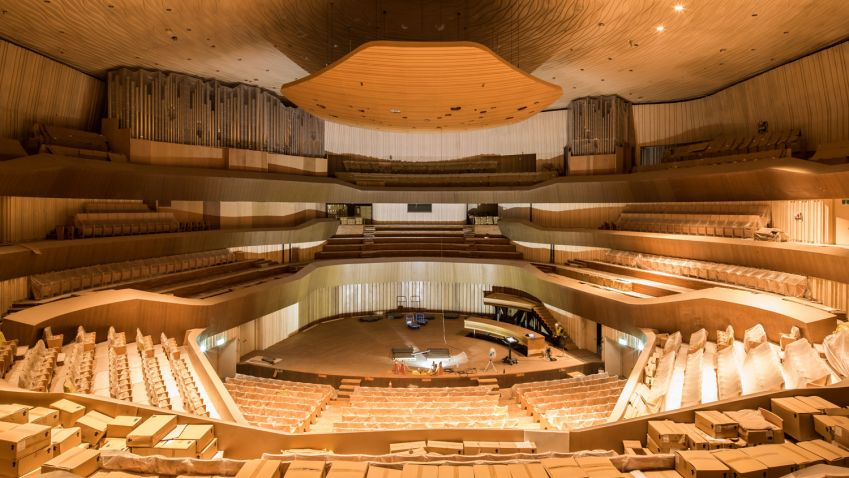 National Kaohsiung Center for the Arts in Taiwan by Mecanoo