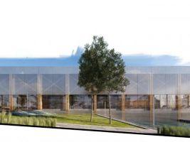 zdroj archinfo.sk Popisek: Vizualizace nové plovárny v Ružomberoku