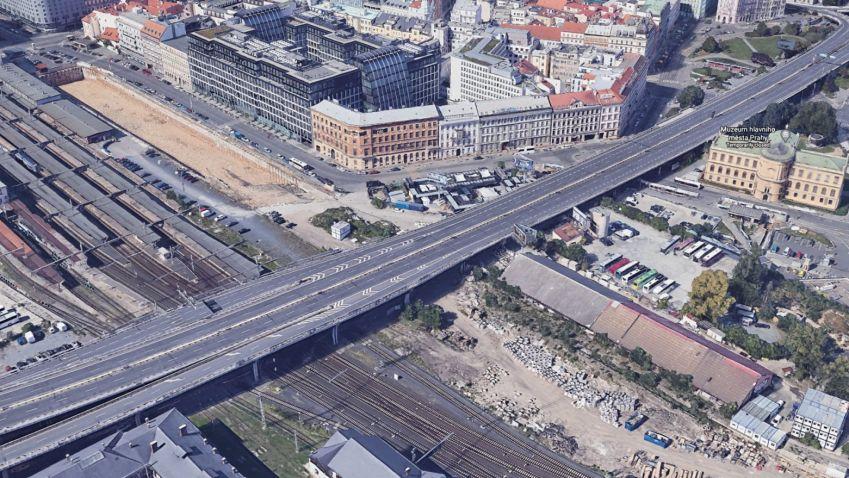 Největší brownfield v centru Prahy by mohl už brzy znát svoji podobu