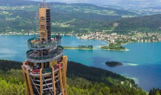 Nejvyšší dřevěná rozhledna na světě stojí v Rakousku