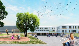 'New School LOŠBATES' proposal near Prague, Czech Republic by SuperSpace