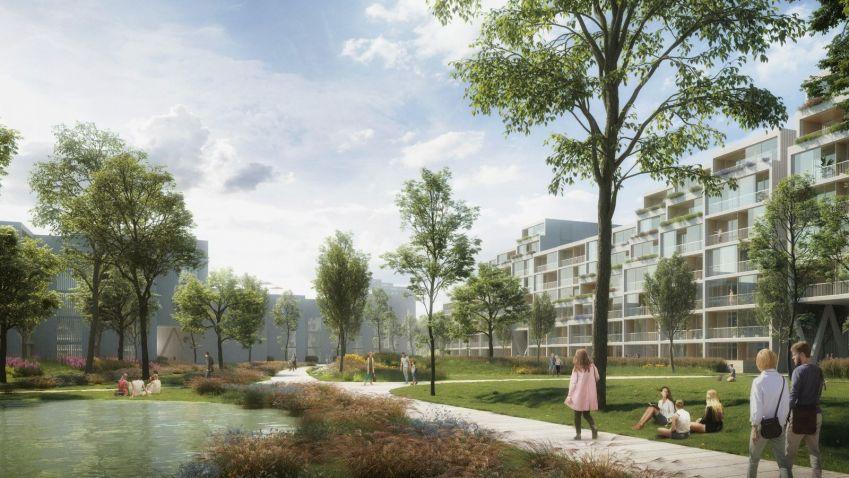 Nizozemský ateliér Benthem Crouwel Architects změní podobu Nákladového nádraží Žižkov