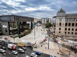 Institut plánování a rozvoje hl. m. Prahy Popisek: Rekonstrukce prostor mezi budovami