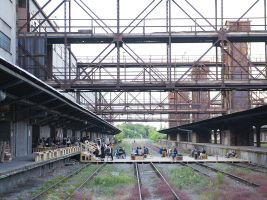 Nákladové nádraží Žižkov, zdroj: Národní filmový archiv