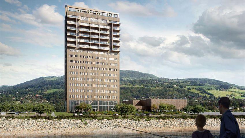 Norové budou mít nejvyšší budovu ze dřeva