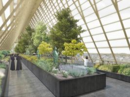 zdroj Studio NAB Popisek: Pod střechou by se nacházel skleník