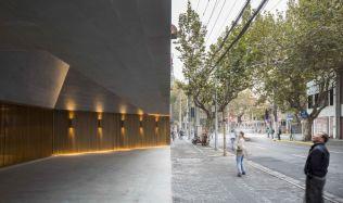 Nové Šanghajské Divadlo v Číně od Neri&Hu