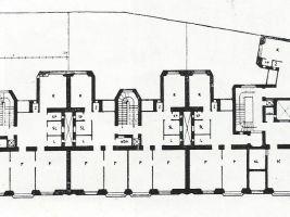 Půdorys Učitelských domů – Bílkova 123/3, Typ činžovní dům