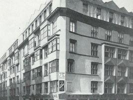 Historická fotografie Učitelských domů, Praha 1919–1921
