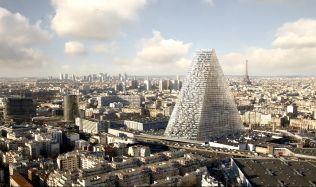 Nový francouzský mrakodrap má zelenou. Nad Paříží se bude tyčit obří trojúhelník