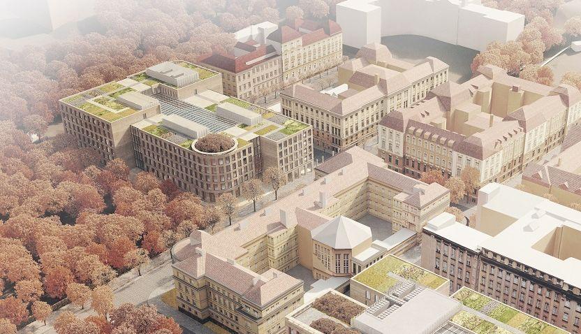 Nový kampus Karlovy univerzity na Albertově by měl být hotový do roku 2025