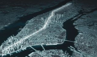 'NYC_B&B Boulevard & Broadway' feasibility study of public space in New York City, USA by Metrogramma