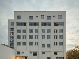 zdroj archinfo.sk Popisek: Občanské a průmyslové budovy, Mlynica, Bratislava