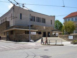 zdroj archinfo.sk Popisek: Občanské a průmyslové budovy, Nová synagóga, Žilina