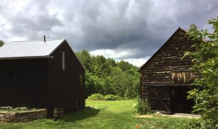 Obytná stodola ve státě Newa York od Sigurda Larsena