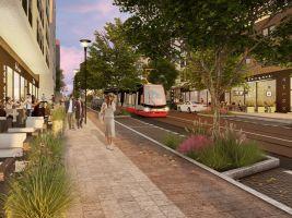 Projekt Sigma Modřany - Tramvajová trať