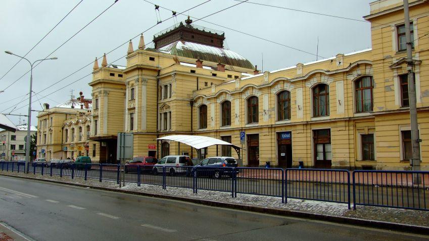 Oprava nádraží v Českých Budějovicích by měla začít v lednu 2020