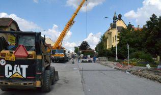 Oprava ulice Cyrila Boudy v Kladně končí
