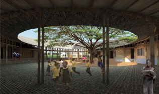 Orphaned Children Eco-village in Soy, Kenya by O2 Design Atelier