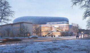 Novou koncertní halu v Ostravě zrealizuje americké studio Stevel Holl Architects + Architecture Acts