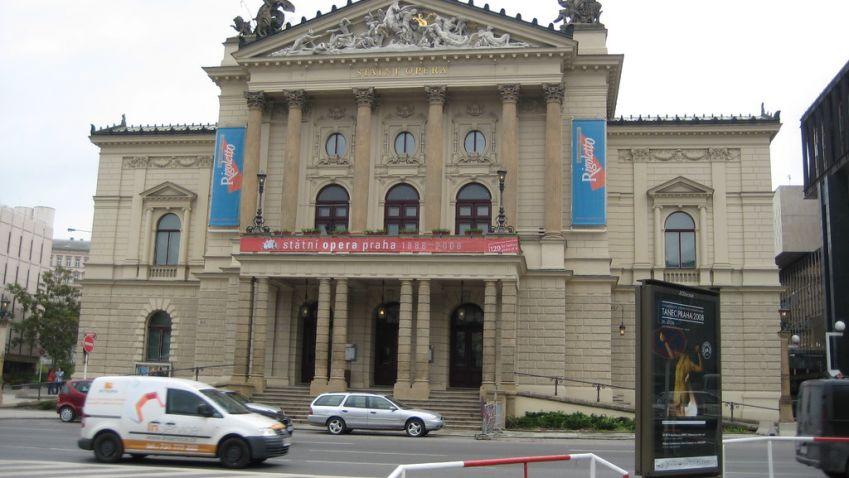 Otevření Státní opery v Praze bude doprovázet videomapping