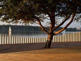 zdroj RS+ Popisek: Zrekonstruovaná část rekreační oblasti u polského jezera Paprocany