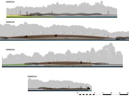 zdroj RS+ Popisek: Nákres rekonstrukce části rekreační oblasti u polského jezera Paprocany