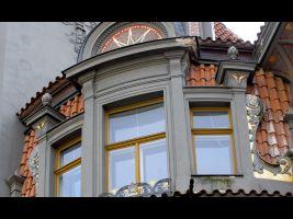 Obytní dům u Synagogy, Pařížská 17