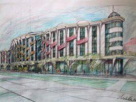 zdroj ARCHINA Design s.r.o. Popisek: Park Hotel Flora, návrh