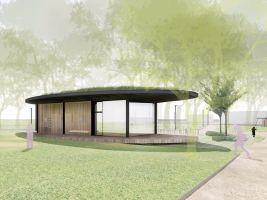 zdroj OK PLAN ARCHITECTS s. r. o. Popisek: Vizualizace nového parku Stromovka