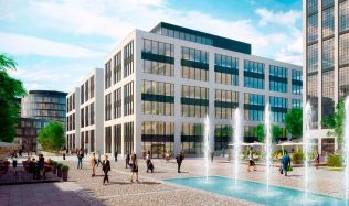 Waltrovka engine factory turned into a new neighborhood by Penta Investments in Prague, Czech Republic