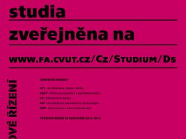 zdroj Fakulta architektury/ Popisek: Témata doktorského studia