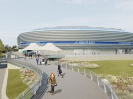 Multifunkční hokejová aréna v Brně, vizualizace