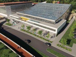 Aquapark Brno, vizualizace