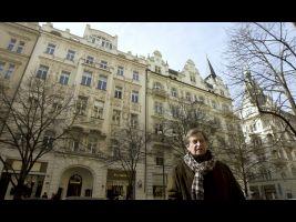 První secesní dům v Pařížské ulici vystevěn firmou Matěje Blechy