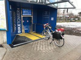 zdroj biketower.cz/ Popisek: Vchod do Biketower