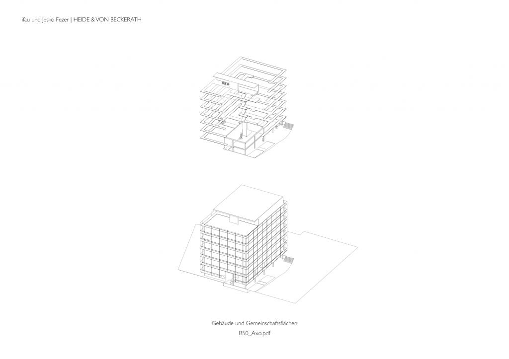 Heide Beckerath r50 co housing project in berlin germany by ifau and jesko fezer