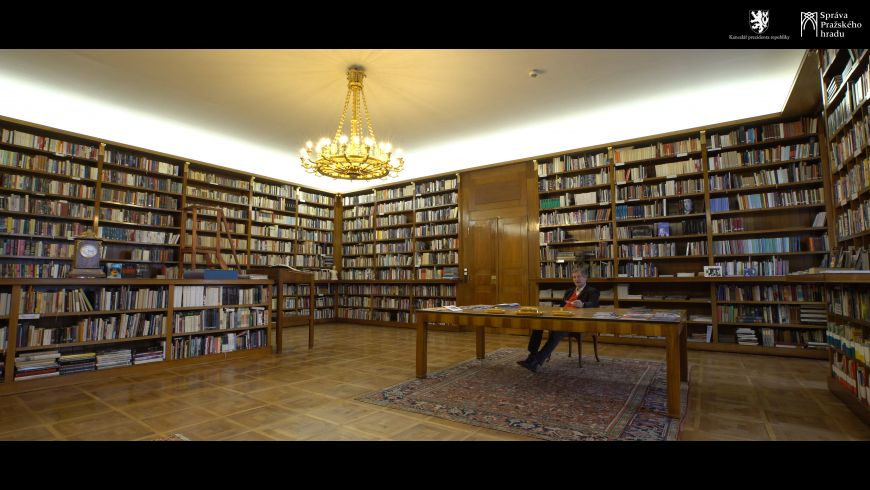 H.A.T. - 42. T. G. Masaryk's Apartment at Prague Castle, Part 4, Workroom