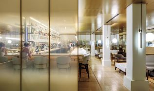 'Jean Georges' restaurant in Shanghai, China by Neri&Hu