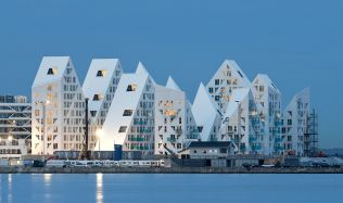 'The Iceberg' apartment complex in Århus, Denmark by CEBRA