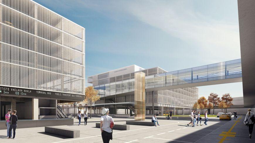 Moderní technologie zajišťující bezpečnost a nové budovy s obchody a restauracemi. To je budoucnost Letiště Václava Havla