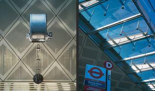 'Canada Water' Bus Station in London, UK by Eva Jiřičná