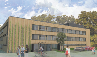 Učiliště v pražských Hrdlořezích se promění ve smart building