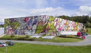 Industrial big-box or an unusual art gallery?