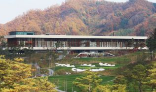 Whistling Rock Golf Clubhouse in South Korea by Mecanoo