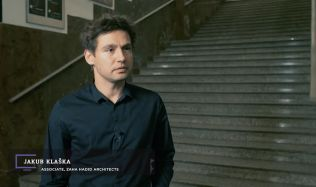TV Architect interviews Jakub Klaška of ZHA at the Symposium of Experimental Architecture in Prague