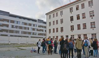 Students redesigning former ghetto into modern residential area