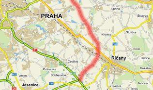 Běchovice-D1 section of Prague ring road passes EIA