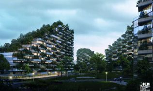 Forest City in Liuzhou, China by Stefano Boeri Architetti